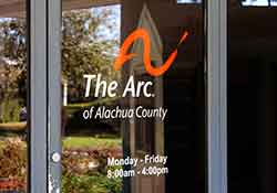 front door at The Arc